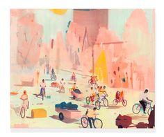 Jules de Balincourt @Kassel // Bikes