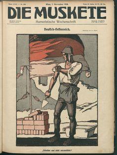 ÖNB/ANNO AustriaN Newspaper Online 1918 7 november