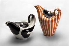 design traveller: Polish design Polish design, polski dizajn, polskie wzornictwo, made in Poland. Ceramic Pitcher, Ceramic Tableware, Ceramic Teapots, Vintage Ceramic, Ceramic Pottery, Pottery Art, Ceramic Art, Ceramic Design, Vases