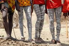Maasai. For more ethnic fashion inspirations and tribal style visit www.wandering-threads.com