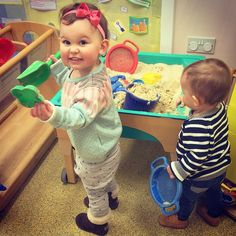 Instagram media by jonathanjoly - Emilia is teaching Eduardo how to build sand castles! #sacconejolys