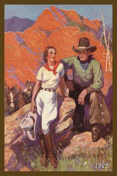Cowboy Boots Motivational Poster Art Print Western Cowgirl Rodeo Teamwork MVP637