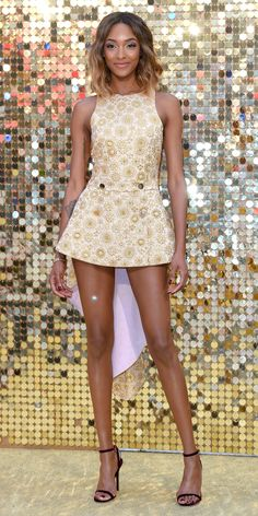 Look of the Day - Jourdan Dunn from InStyle.com