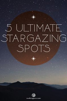 It's something to do on a first date, with friends, or just by yourself– stargazing. It can be romantic, scientific, or even educational, but the one thing that it always is, is interesting. The stars tell the stories of the world!