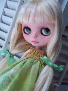 OOAK Custom Blythe Doll  Celeste by ArtDollKeepsakes on Etsy, $295.00