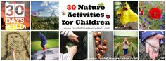 Sun Hats & Wellie Boots: 30 Nature Activities for Kids Celebrating 30 Days Wild