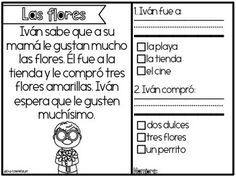Historias de Comprension (Febrero) - February Comprehension Stories