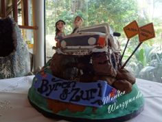 4wd wedding cake