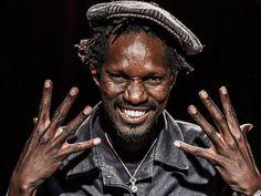 Pedro KOUYATE musicien   Emmanuel Delaloy 2015 - Tous droits réservés  #portrait #blackandwhite #noiretblanc