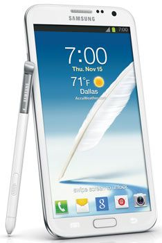 Samsung Galaxy Note II 4G Android Phone, Marble White (Verizon Wireless) | Your #1 Source for Mobile Phones, MP3 Players & Accessories