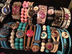 De la couleur pour notre été! Faite votre mélange avec les bracelets et pops de la compagnie NOMAAD