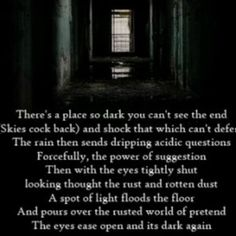 A Place so Dark