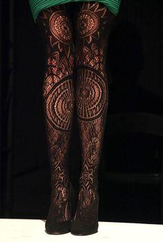 tights by Emilio Cavallini Fall 2012