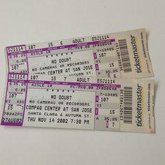 @tmichelett Ticket Stubs, Concert Tickets, Event Ticket, Coding, Programming