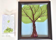 Kit telaio albero genealogico Wall Art bonifico di CreativeArtbyME