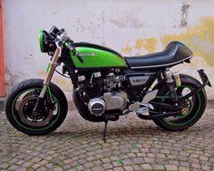 1981 Kawasaki Z750 by Gabriele Lele Mariani, Italy (via Ferro29 cafe racer community)
