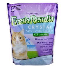Pro-Sense Fresh Results Crystal Silica Cat Litter, 8-Pound >>> Click image to review more details. (This is an Amazon affiliate link)