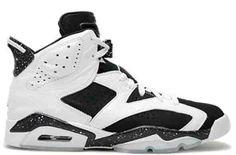 hot sale online 03a1e 8e607 Buy New Air Jordan 6 (VI) Retro White Black-Speckle Oreo Basketball Shoes  Shop