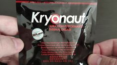 Thermal Grizzly Kryonaut unpacking and close look. Ultra high performance thermal grease (we'll see about that) - checking viscosity color and texture. Thermal Grease, Build A Pc, Coolers, Fat
