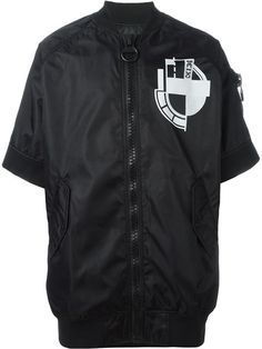 KTZ Short Sleeve Bomber Jacket. #ktz #cloth #jacket