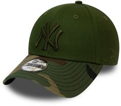 9a1369e413de7 NY Yankees New Era 940 Kids Camo Green Baseball Cap (Ages 2 - 10 years