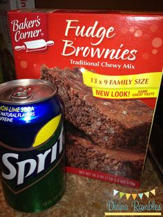 Diana Rambles: Egg-less Brownies Eggless Brownie Recipe, Boxed Brownie Recipes, Eggless Recipes, Cake Mix Recipes, Eggless Desserts, Eggless Baking, Cake Mixes, Ww Desserts, Chocolate Desserts
