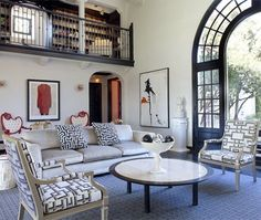 Eclectic California Living Room | design Tamara Kaye-Honey | House & Home