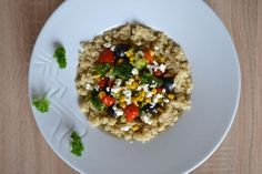 Quinoa, Risotto, Oatmeal, Breakfast, Ethnic Recipes, Food, The Oatmeal, Morning Coffee, Rolled Oats