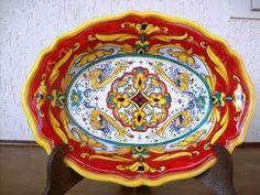 plate #handpainted #ceramicart  #Italy