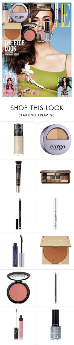 """Keira Knightley Inspired Makeup Tutorial"" by oroartye-1 on Polyvore featuring beauty, Revlon, CARGO, Too Faced Cosmetics, Rimmel, Anastasia, Urban Decay, Stila, LORAC and MAC Cosmetics"