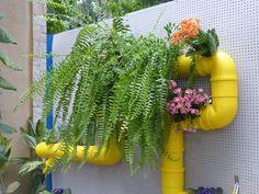 Ideias Diy, Plants, Images, Gardens, Beautiful Gardens, Gardening Tips, Pot Plants, Violets, Pvc Tube