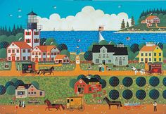 500 piece jigsaw puzzle from the Americana Collection by MEGA, for ages10 and up. Finished size: 18.938 x 26.75. Released July 2013.