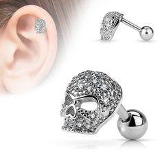2pcs Feather Cartilage Helix Tragus Lèvre Earring Stud Bar Boucle d/'oreille Piercing 16 G