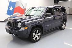 eBay: 2016 Jeep Patriot Latitude Sport Utility 4-Door 2016 JEEP PATRIOT HIGH ALTITUDE HTD LEATHER SUNROOF 15K #526388 Texas… #jeep #jeeplife