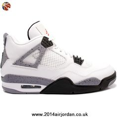 White / Cement Air Jordan 4 (IV) 2012 Retro
