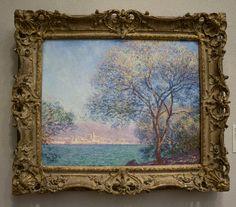 Morning at Antibes  Claude Monet  1888  Group of Bathers  Paul Cezanne  1895  Philadelphia Museum of Art