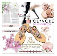 """""""Pasha - Jewelry for your feet 2"""" by s-o-polyvore ❤ liked on Polyvore featuring Guerlain"""