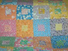 A bit more visual interest. Aunt Grace fabrics.