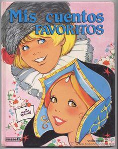 MIS CUENTOS FAVORITOS - VOL. 2 - *MARIA PASCUAL* - 1987 (Libros de Lance - Literatura Infantil y Juvenil - Cuentos)