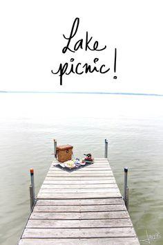 Lake Picnic | Inspiration Nook #picnic #MadisonWI