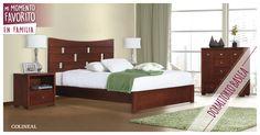 Tu #dormitorio es el espacio perfecto para reflejar tu estilo, quién eres y lo que más te gusta. El innovador diseño de la Cama Basilea es ideal para todas esas personas modernas y actuales.