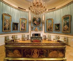 Wallace Collection: Oval Drawing Room,  Hertford House | Manchester Square, London W1U 3BN, England