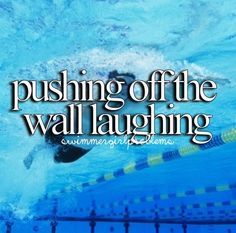 Swimmer probs lol.