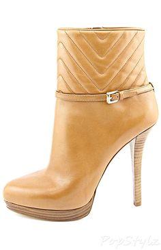Michael Kors Avery High Heel Leather Bootie