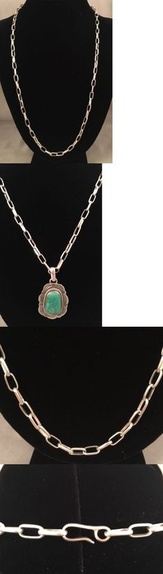 Southwestern 164301: Handmade Shiny Link Sterling Silver Chain 20 Grams -> BUY IT NOW ONLY: $47 on eBay!