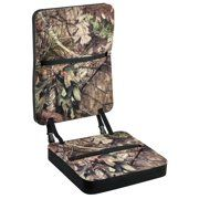 eae1ce7579053 Mossy Oak MO-CUSHB-BC Deluxe Foam Seat with Back Rest Break-Up Country -  Walmart.com
