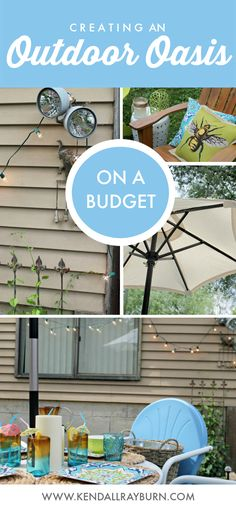 Creating an Outdoor Oasis on a Budget with @worldmarket #ad
