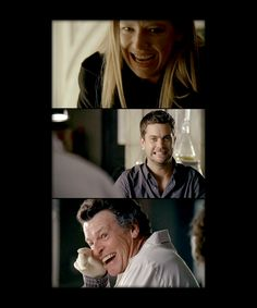 Anna torv, Joshua Jackson and John Noble Fringe Tv Series, Fringe Tv Show, Science Fiction, Walter Bishop, John Noble, Anna Torv, Favorite Tv Shows, My Favorite Things, Picture Mix