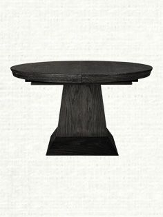 Leighton Small Black Dining Table