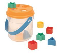 Shape Sorter Bucket Toy  - Click image twice for more info - see a larger  of  baby shape sorter toys   at  http://zbabybaby.com/category/baby-categories/baby-and-toddler-toys/baby-shape-sorter-toys/ - gift ideas, baby , baby shower gift ideas, toy   « zBabyBaby.com